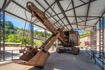 Museum of the Mines of Sercs near Barcelona, Spain.