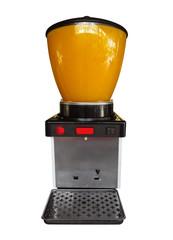 Juice dispenser isolated