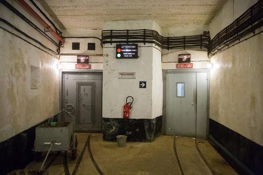 Indoor Railways of Maginot Line