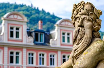 old town of heidelberg in germany