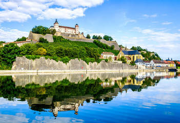 old town of wurzburg in germany