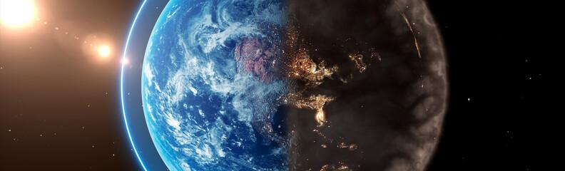 planet earth concept Fototapete