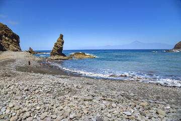 Playa de Caleta auf der Insel La Gomera / Kanaren