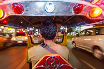 Poster Bangkok Auto-rickshaw or tuk-tuk, Bangkok, Thailand