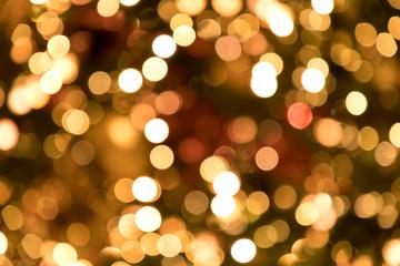 (東京都ー夜景)クリスマスツリーのボケ玉3