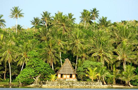 Men's house, Yap Island