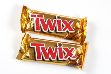 barre chocolatée Twix
