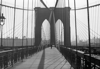 Brooklyn Bridge, 1948, New York