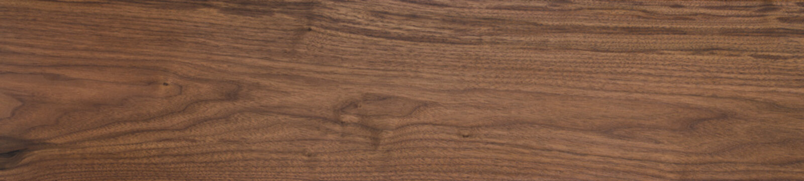 Black walnut wood texture of solid board oil finished