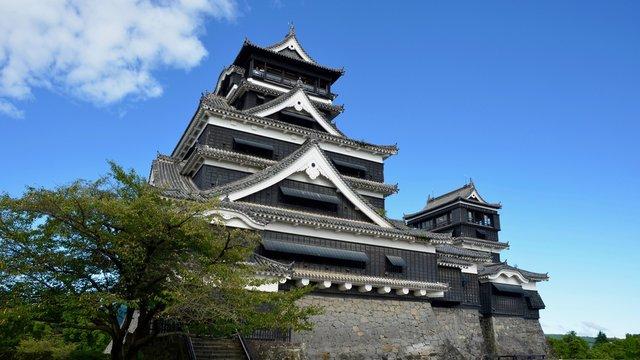 震災前の熊本城