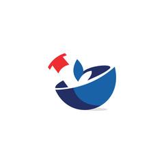 Health Care Pharmacy Logo
