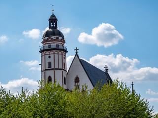 Thomaskirche in Leipzig Ostdeutschland