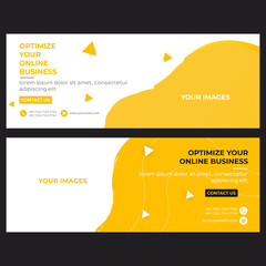 Banner of business for Facebook cover