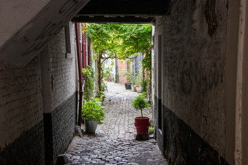 alley in old town