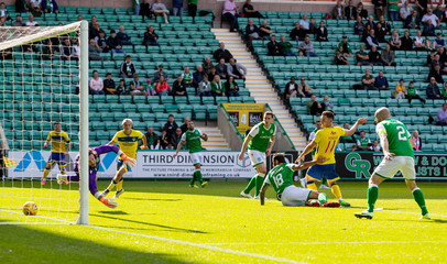 2019 Scottish League Cup Hibernian v Greenock Morton Aug 17th