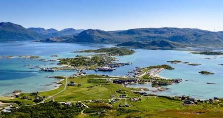 Sommarøy island, Northern Norway, summer scene
