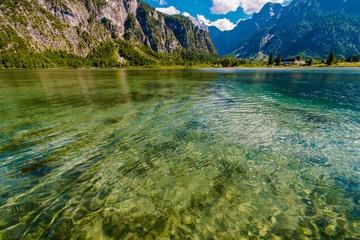 Wall Mural - Scenic Austrian Lake