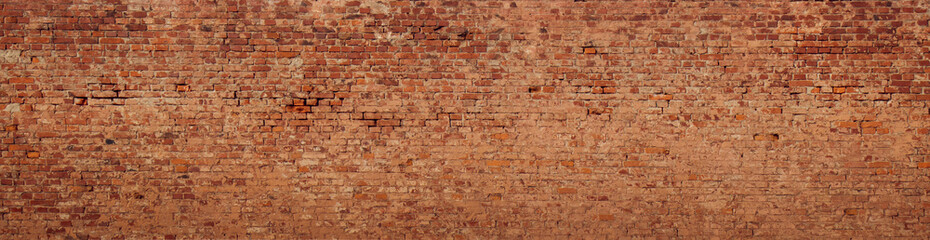 Photo sur Aluminium Mur Large Old Brick Wall Background