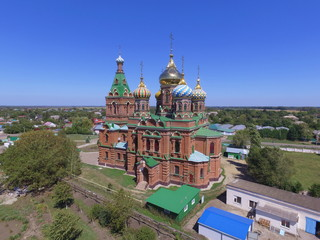 Wall Murals Kiev Trinity Church of life in Platnirovskaya, Krasnodar region, Russia