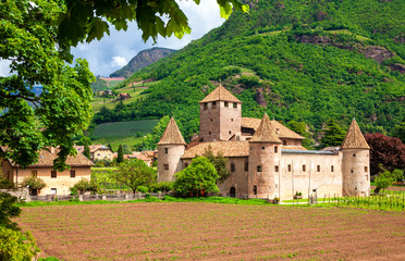 Maretsch Castle (Castel Mareccio)  is a castle located in the historic center of Bolzano, South Tyrol, northern Italy.