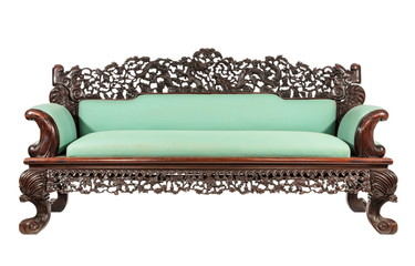 CHINESE rare rose wood sofa oriental asia antique