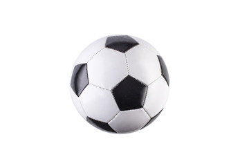 In de dag Bol Soccer ball isolated on white background