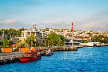 Fotomurales - Port of Istanbul, Turkey