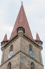 Kirchturm St. Johannis Baptista Burgfarrnbach