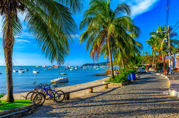 Foto auf Acrylglas Brasilien Seafront of Brigitte Bardot in Buzios, Rio de Janeiro. Brazil