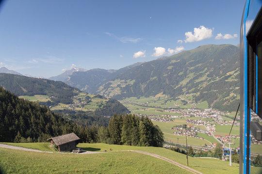 Seilbahn in Österreich