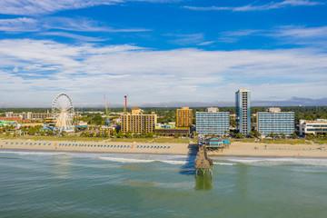 Fotomurales - Aerial scene Myrtle Beach SC USA