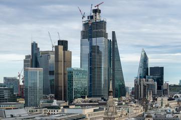 Foto op Canvas Verenigde Staten London Under Construction