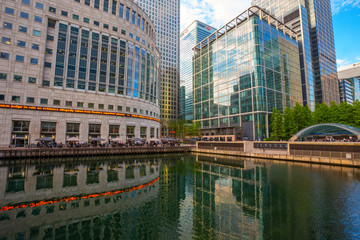 Canary Wharf is a commercial estate in London, UK