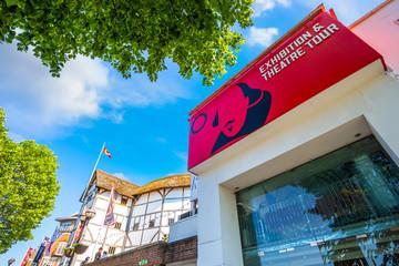 hakespeare's Globe Theatre in London, UK