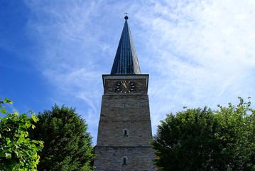 Mülheim an der Ruhr Petrikirche Kirchenhügel