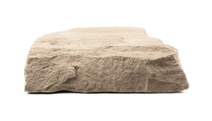 Rock Stone front board empty table Blank for mockup design.