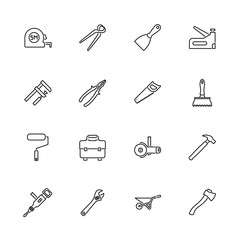 Tools - Flat Vector Icons