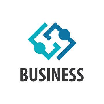 Three businessman silhouettes - vector icon