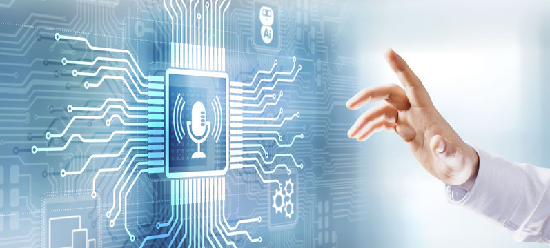 Voice recognition search optimisation AI artificial intelligence.