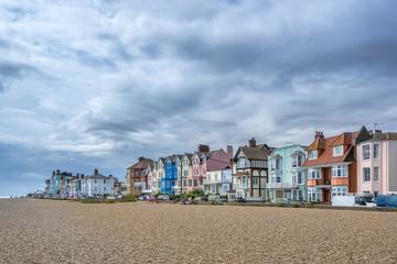 Aldeburgh pebble beach in Suffok England Fototapete