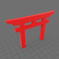 Shinto Torii symbol
