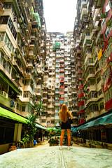 Yick Fat Building Hongkong