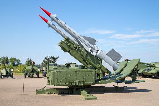 SAM missiles