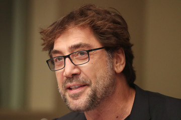 Actor Javier Bardem speaks about a Global Ocean Treaty to protect the oceans with the Greenpeace and High Seas Alliance at the United Nations headquarters in New York