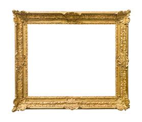 vintage ornamental painting frame cutout
