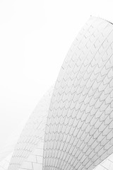 Sails of the Sydney Opera House, New South Wales, Australia