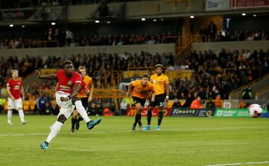 Premier League - Wolverhampton Wanderers v Manchester United