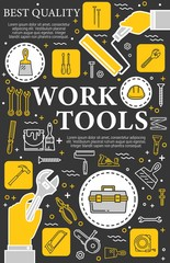 Construction, repair and renovation hand tools