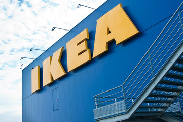 The Ikea logo  IKEA is the world's largest furniture retailer and sells ready to assemble furniture