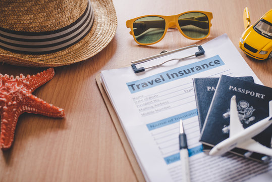 Travel insurance documents to help travelers feel confident in travel safety.